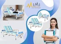 Giường bệnh nhân 3 tay quay có bô vệ sinh GYM-011